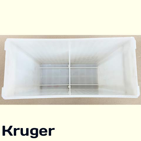 2v 800Ah battery container inside view